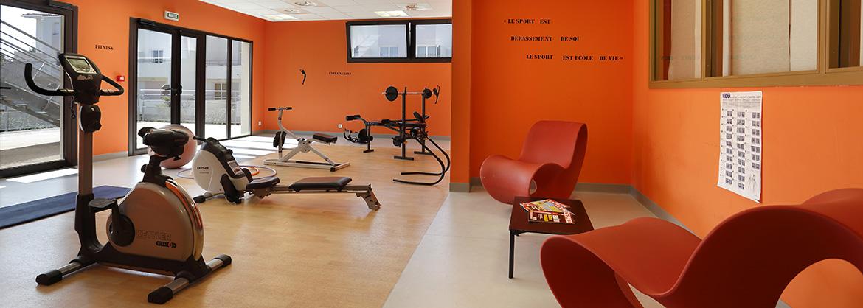 Résidence Cap Camargue - Vacancéole - Le Grau-du-roi - Salle fitness, sauna